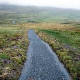 High time… the refurbished path is part of the Yorkshire Three Peaks trail..