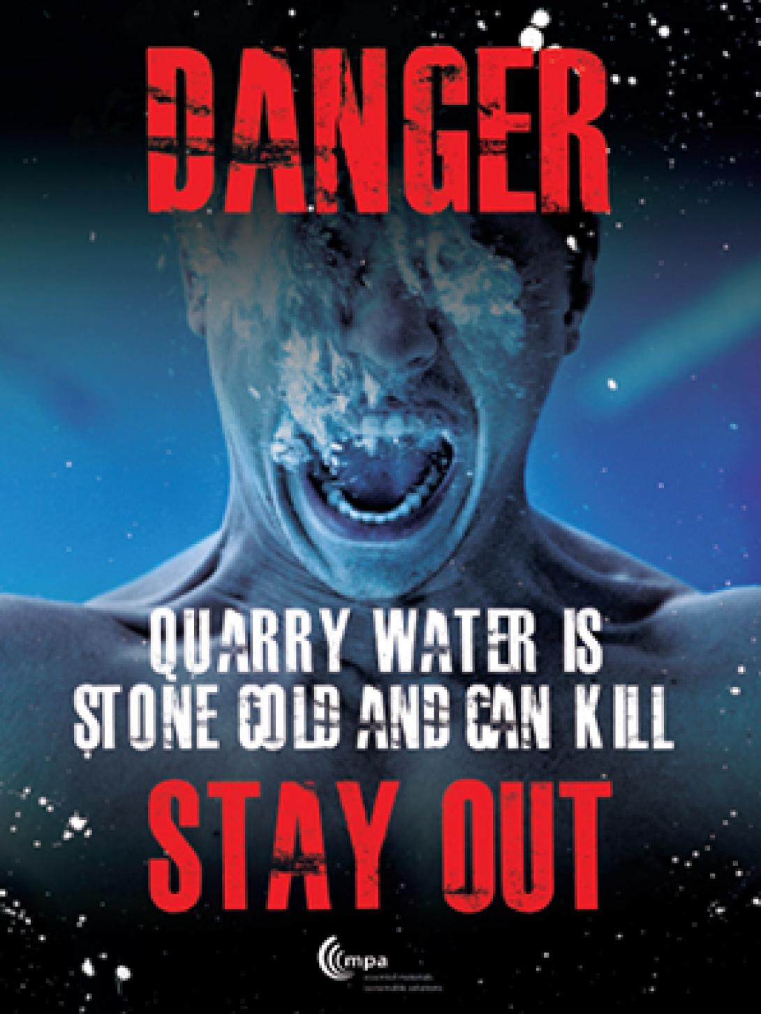 Stay safe... Stay out of quarries.
