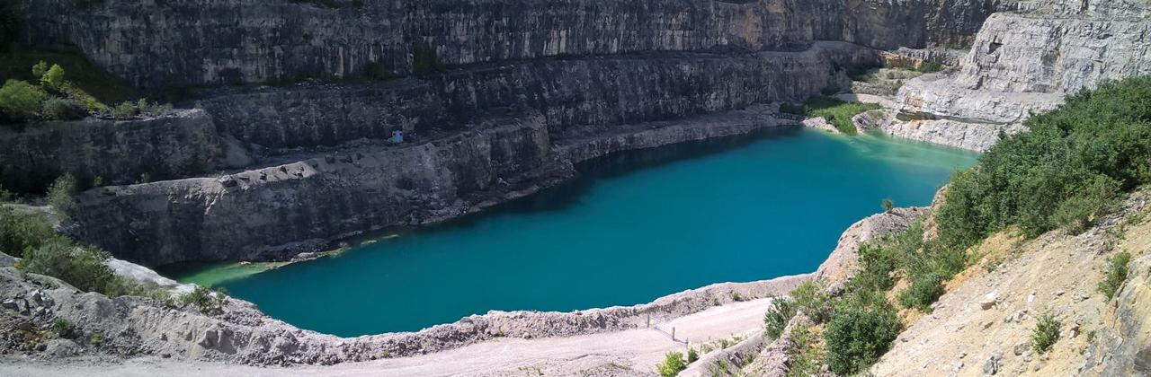 Black dye added to Flintshire quarry to deter swimmers